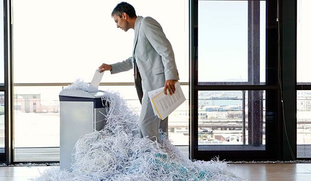 Paper Shredding in the Business Image - DD